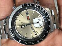 Seiko Chronograph 6139-6040 Automatic Vintage Mens watch Excellent conditin Rare