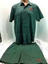 Vtg Original Coca Cola Delivery Driver Uniform With Shirt & Shorts Made in USA