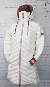686 GLCR Bliss Down Insulator Snowboard Jacket Women's Small White New