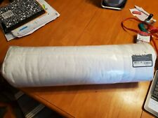 "Hotel Collection 800 Thread Count 7"" X 24"" Neckroll Decorative Pillow White*NWT*"