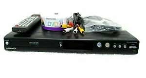 Magnavox MDR515H/F7 DVR HDD 500Gb DVD Player Recorder W/ New Replacement Remote
