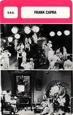 FICHE CINEMA :  FRANK CAPRA -  USA (Biographie/Filmographie)