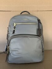 Tumi Voyageur Hagen Lightweight Laptop Backpack 196302 Fossil Gold Hardware Mink