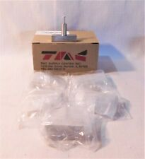 """Tmc 2"""" X 1 1/4"""" Silver Bar Drawer Pulls 5 Pack with Hardware, Cabinets, Drawers"""