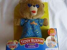 Hug N Sing Lullaby Teddy Ruxpin