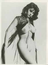 "Eve Eden  By Harrison Marks  6"" x 4"" 1950 Original Nude  Pinup Photo  B8047"