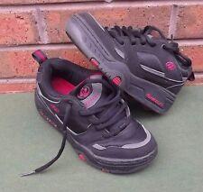 Boys Heelys Black Roller Shoes Size UK 2 EU 34