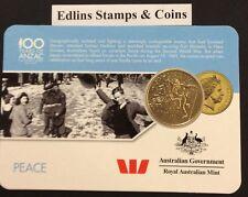 2016 Westpac RAM 25 cent coin - Peace