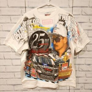 Rare Vintage Dale Earnhardt 25th Anniversary Size M T-Shirt Winston Cup New