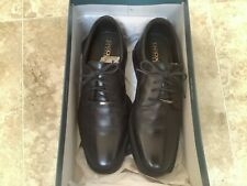 Geox U Brayden 2 fit men's Derby lace up black shoes size UK7