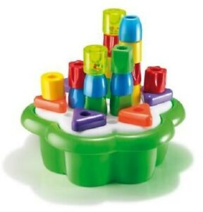 Brand New Quercetti Daisy Sorting Box -  Toddler Activity Toy Pegs Shapes