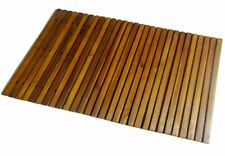 Acacia Bath Mat 80 x 50 Cm Home Bathroom Sauna Area Accessories Wooden Furniture