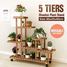 Porte-plantes en bois pour la décoration du jardin | Achetez ...