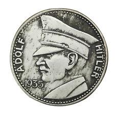 1935 Old Antique Vintage WW2 WWII German army Nazi Germany War Swastika Coin