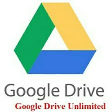 Unlimited Google Drive / Lifetime Account  / Custom User Name