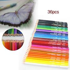 36 pcs Wood Non-toxic Colored Drawing Pencils 36 Colors Drawing Sketching MT MT