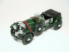 """Super Charged Blower Bentley 4 1/2 Litre """"Le Mans 1930"""" #8, Brumm in 1:43!"""