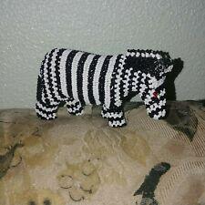 African beaded zebra