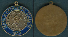 1949 Philippines MANILA CATHEDRAL COLLEGE Medal