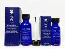 CND Combo of 2 pc - NAIL FRESH 1oz/29ml + NailPrime Acid-free Primer .5oz/15ml