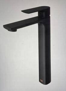 Vigo VG03027 Black Norfolk 1.2 Gpm Single Hole Vessel Bathroom Faucet