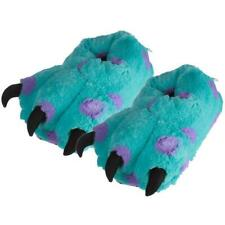 Officially Licensed Monsters Supersoft Plush Inc Fluffy Furry Costume Slippers