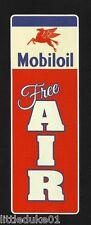 """MOBIL FREE AIR"" Sticker / Decal VINYL Garage Promo Service Station OIL PETROL"