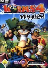 Worms 4: Mayhem (pc dvd-rom) - NEUF & immédiatement