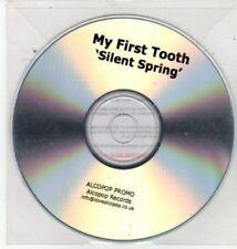 (BQ942) My First Tooth, Silent Spring - DJ CD