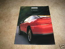 1993 Plymouth Laser RS Turbo AWD sales brochure dealer catalog literature