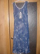 REBAJAS precioso vestido rebersible azul oscuro o azul muy claro,talla 42,44,46