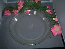 Vintage DEEP DISH Clear Pyrex 10 inch Pie Plate 210 HTF Size Easter Pies