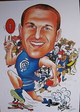 Chris Judd Carlton Blues Limited Edition print signed by Artist