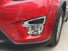 Mazda CX-5 Chrom Nebelleuchten Rahmen Blenden Tuning NEU