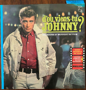 JOHNNY HALLYDAY D'où viens-tu Johnny ? 1963 LP 25 cm réédition Mercury 2003