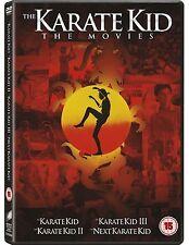 KARATE KID Series 1-4 Complete Anthology Collection 1 2 3 4 Elisabeth Shue DVD