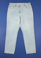 Class jeans donna usato W38 tg 52 denim blu gamba dritta boyfriend vintage T5412