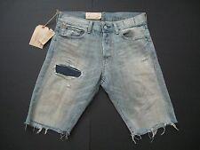 DENIM & SUPPLY RALPH LAUREN Men's Slim Fit  Ripped and Repaired Denim Shorts 30