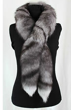 2003 Bluefrost Fox Fur Boa In Natural Colours Real Fur Genuine Fox Fur Scarve