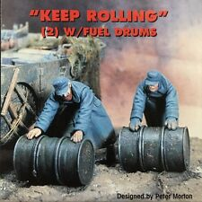 "Jaguar Models 1/35 ""Keep Rolling (2 resin figures and fuel drums) - 63066"