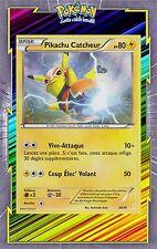 🌈Pikachu Catcheur Holo-XY :Kit Dresseur - 30/30 - Carte Pokemon Neuve Française