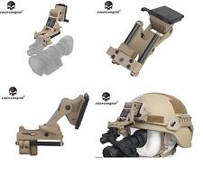 EMERSON HELMET MOUNT DE SUPPORTO VISORE RHINO PVS 7 14 EM3283 AIRSOFT PVS HOLDER