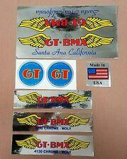Old school bmx GT pro series Nora cup rare decal sticker set. hutch,redline,vdc