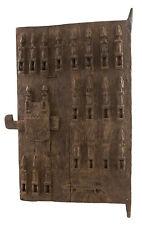 Porte Dogon de grenier à mil mali 90x 51 cm art africain 1051 GAR