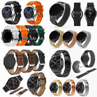 Luxury Stainless/Silicone Watch Band Strap For Samsung Gear S3 Frontier/Classic