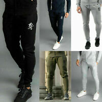 GYM KING Mens Fleece Slim Joggers Tracksuit Designer Jogging Bottoms Sweatpants
