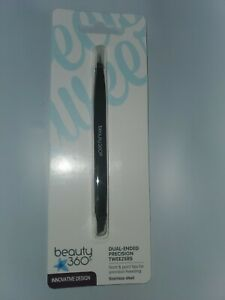 Beauty 360 Innovative Design Dual-Ended Precision Tweezers (XF)