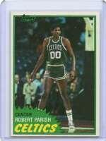 Robert Parish Rookie Card 1981-82 Topps #6 Boston Celtics