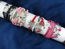$1 each - US Seller - 25 pcs infinity charm bracelet wholesale jewelry lot