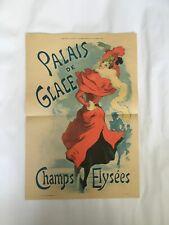 Affiche originale - Palais de Glace 1894
